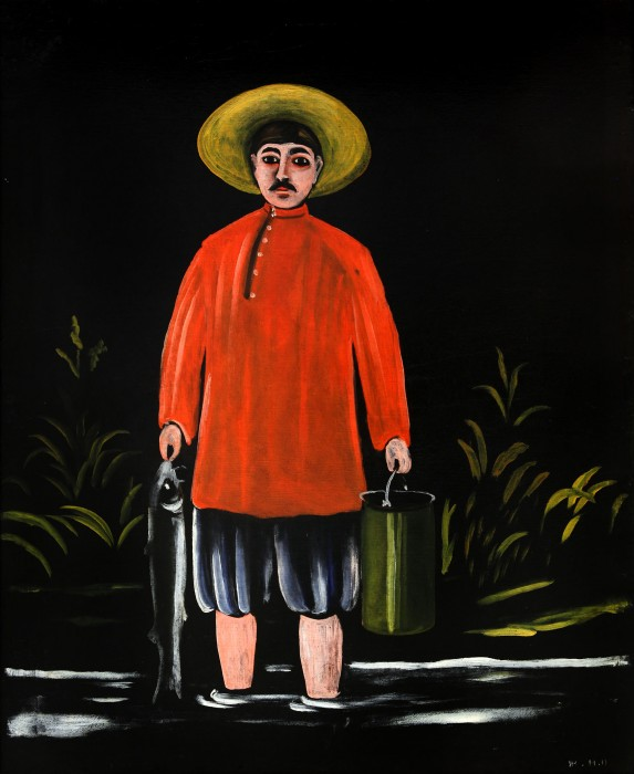 Fisherman in a Red Shirt, 1908
