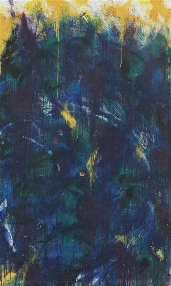 Green Frost - Norman Bluhm