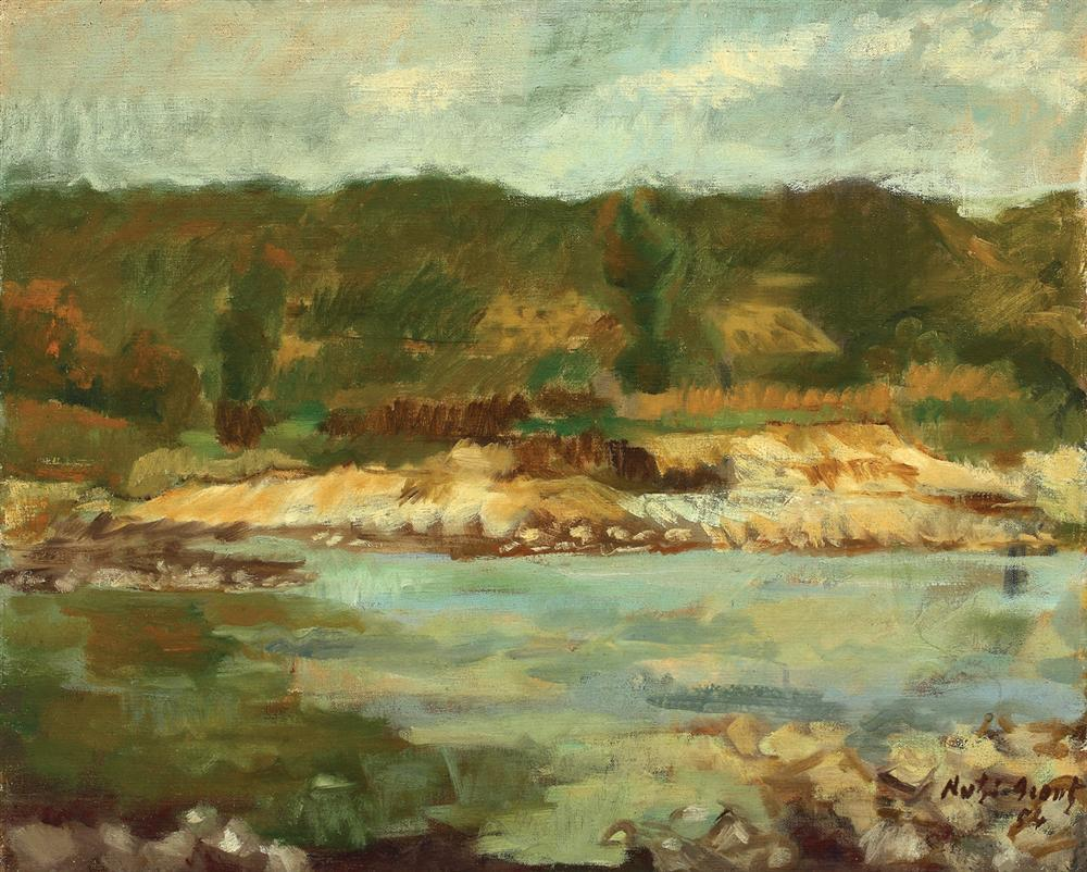 Landscape With River, 1954