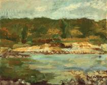 Landscape With River - Nutzi Acontz