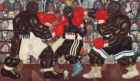 The Man from Bantul (The Final Round), 2000 - Nyoman Masriadi