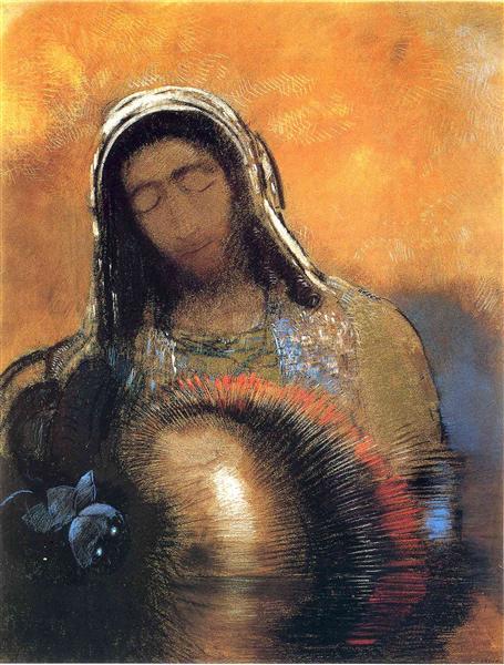 Buddha, c.1906 - Odilon Redon