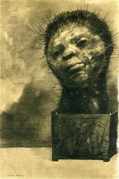Cactus Man, 1882 - Odilon Redon