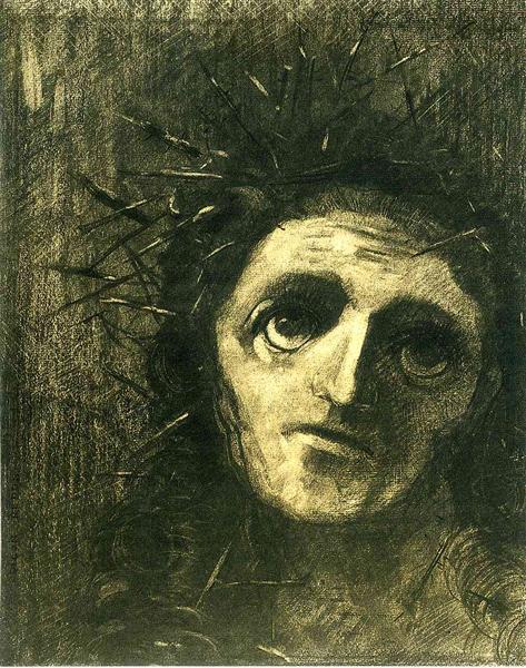 Christ - Odilon Redon