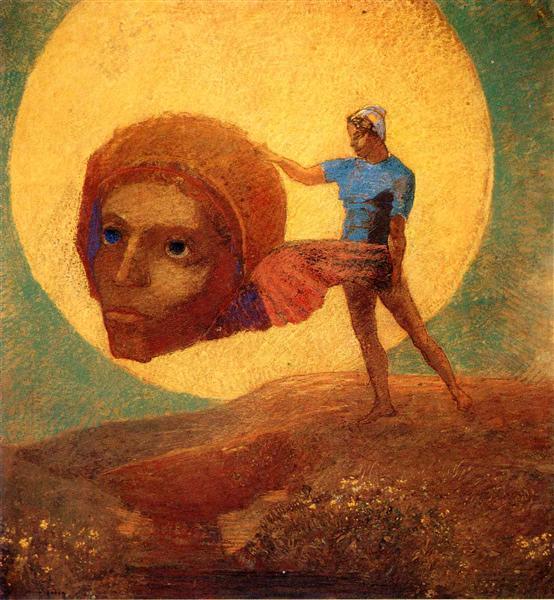 Figure, c.1876 - Odilon Redon