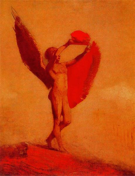 Icarus - Odilon Redon