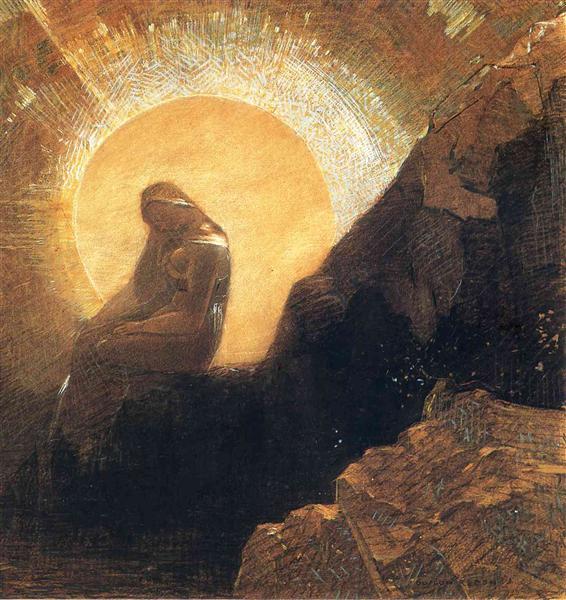 Melancholy, 1876 - Odilon Redon