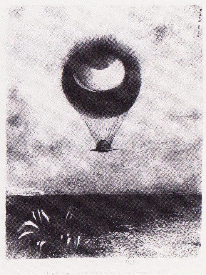 The Eye Like A Strange Balloon Goes To Infinity 1882
