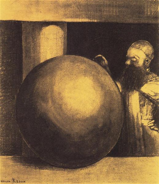 The Prisoner (Boulet), 1879 - Odilon Redon