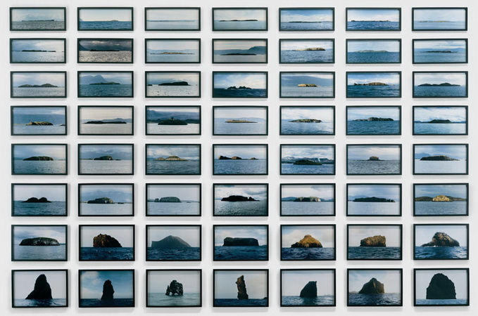 The island series, 1997 - Olafur Eliasson