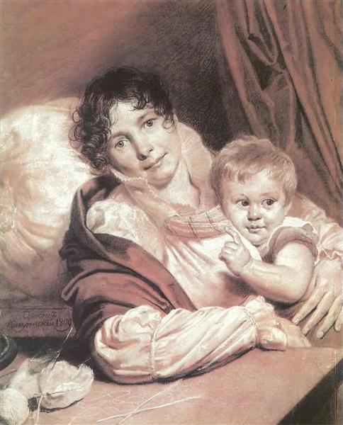 Mother and Child, 1809 - Orest Kiprensky