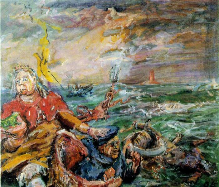 Loreley, 1941 - 1942 - Oskar Kokoschka
