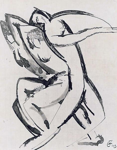 Dance, 1915 - Ossip Zadkine