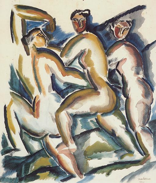 Study of Women, 1920 - Ossip Zadkine