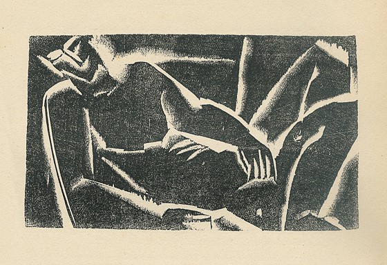 Untitled (The notebooks idealistic), 1921 - Ossip Zadkine