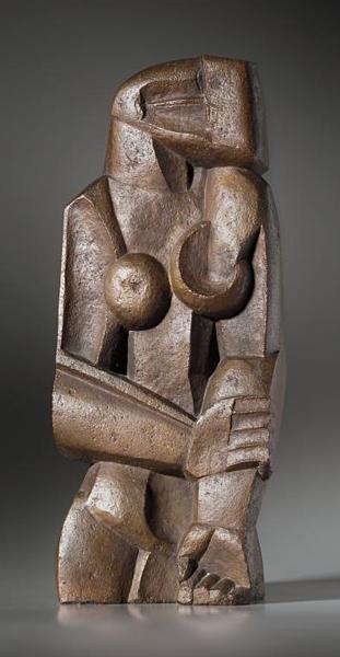 Womanstanding, 1922 - Ossip Zadkine