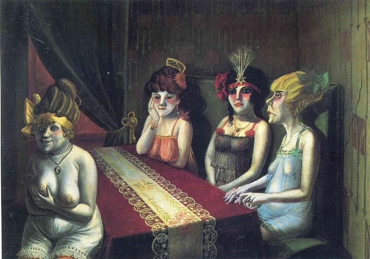 Salon - Otto Dix