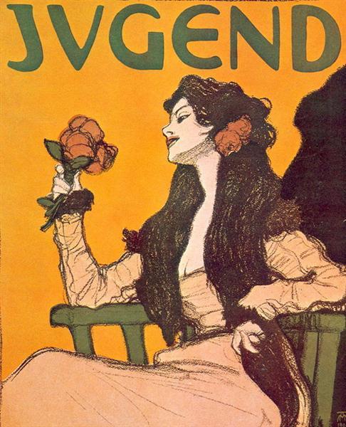 Jugend magazine - Otto Eckmann