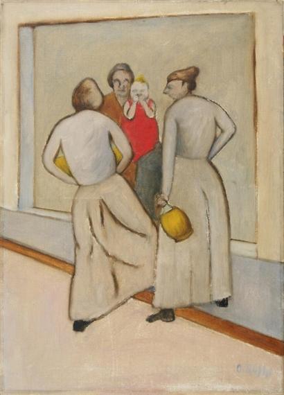 La fonte, 1951 - Ottone Rosai