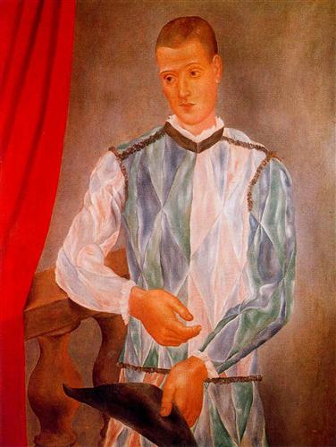 Barselona harlequin - Pablo Picasso