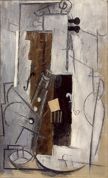 Clarinet and Violin - Picasso Pablo