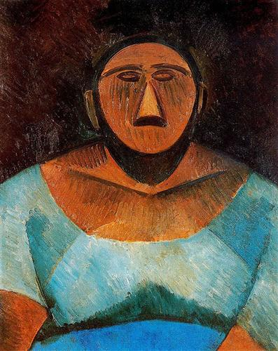 Farm woman - Pablo Picasso