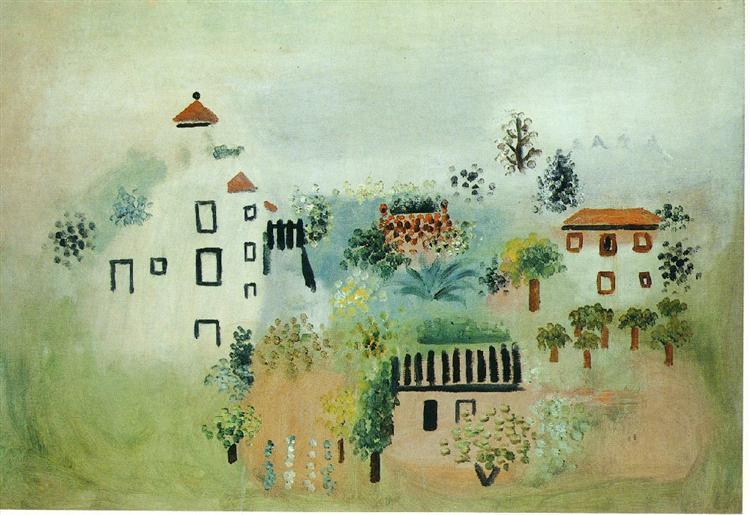 Landscape, 1928 - Пабло Пикассо
