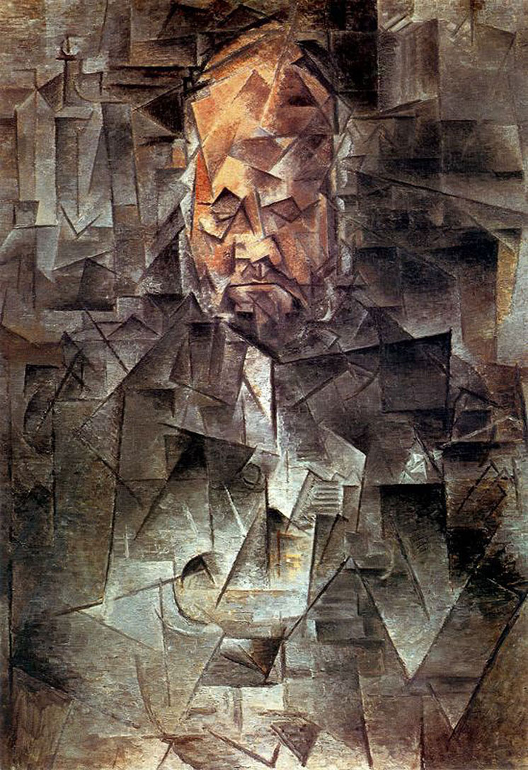Image result for picasso portrait of vollard