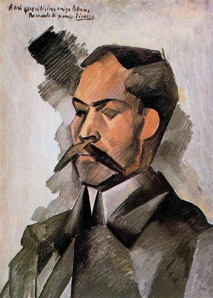 Portrait of Manuel Pallares - Pablo Picasso