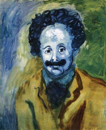 Portrait of Sebastia Junyer-Vidal - Pablo Picasso