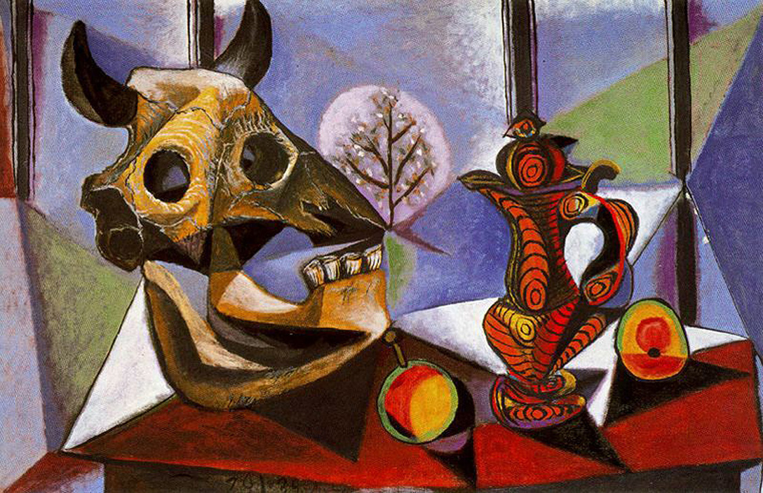 Still life with bull 39 s skull 1939 pablo picasso for Braque oeuvres