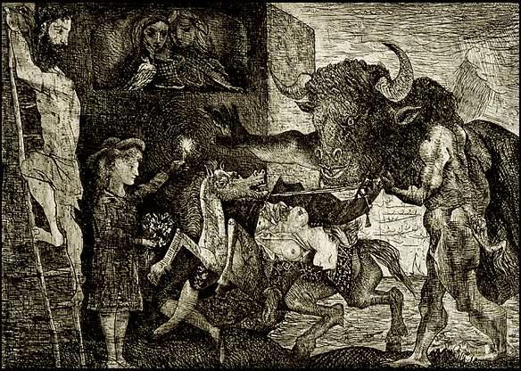 The minotauromachie, 1935 - Pablo Picasso