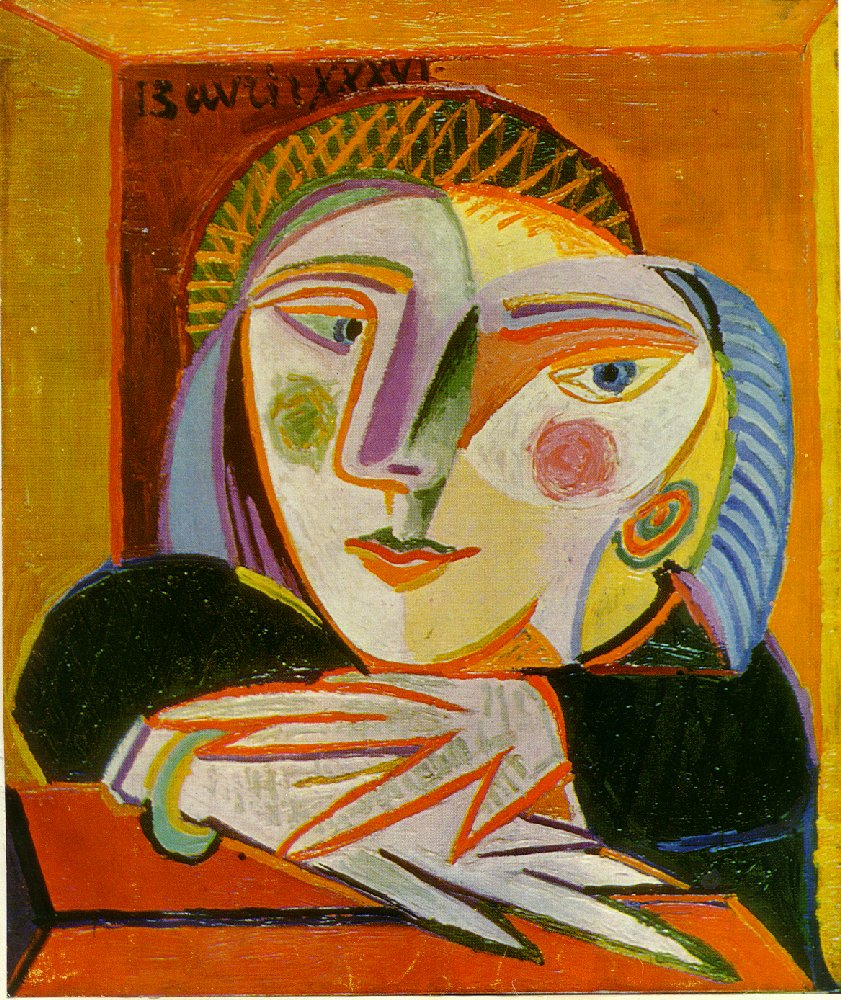 Woman by the window - Pablo Picasso - WikiArt.org ...