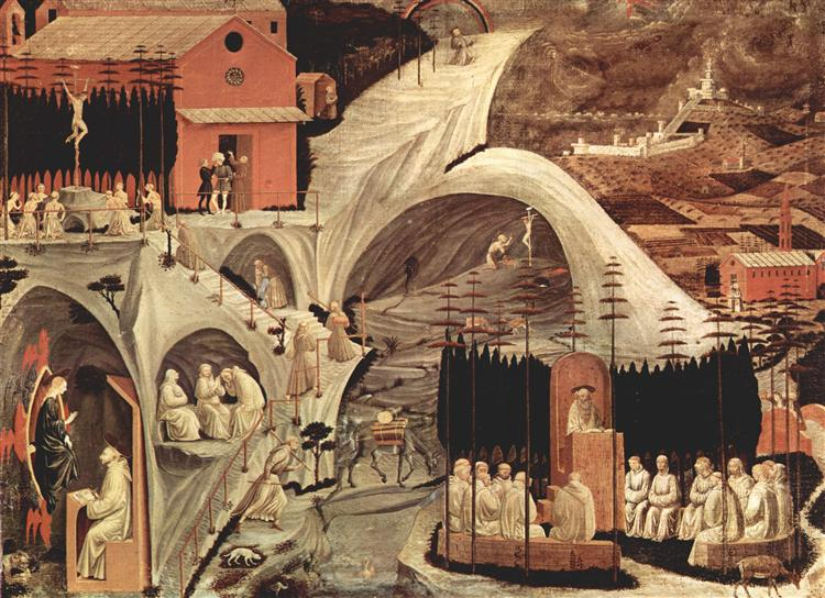 Episodes of the hermit life, 1460 - Paolo Uccello