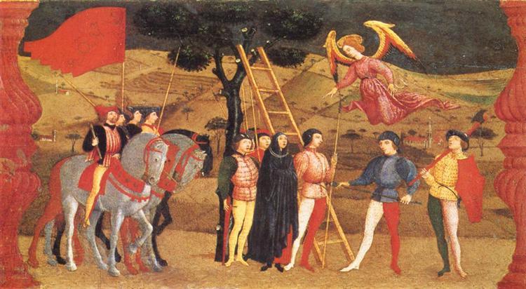 Чудо оскверненной гостии, 1465 - 1469 - Паоло Уччелло