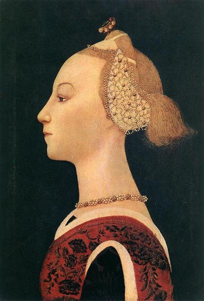 Portrait Of A Lady, 1450 - Paolo Uccello
