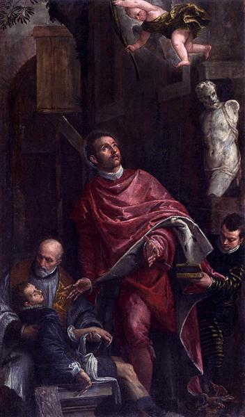 Conversion of St Pantaleon, 1587 - 1588 - Paolo Veronese
