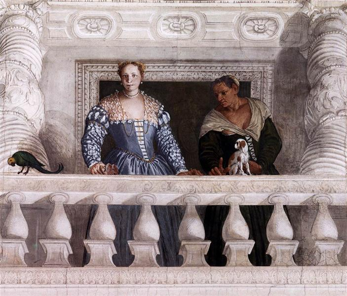 Figures behind the Parapet, 1560 - 1561 - Paolo Veronese
