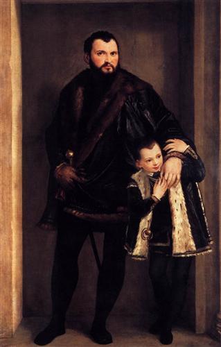 Iseppo and Adriano da Porto - Paolo Veronese