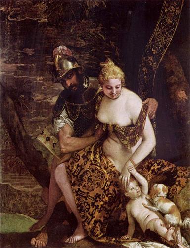 Mars and Venus - Paolo Veronese