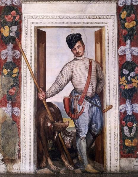 Nobleman in Hunting Attire, 1560 - 1561 - Paolo Veronese
