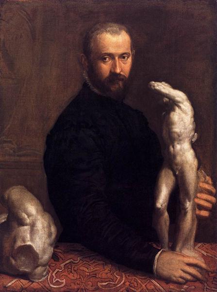Portrait of Alessandro Vittoria, c.1575 - Paolo Veronese