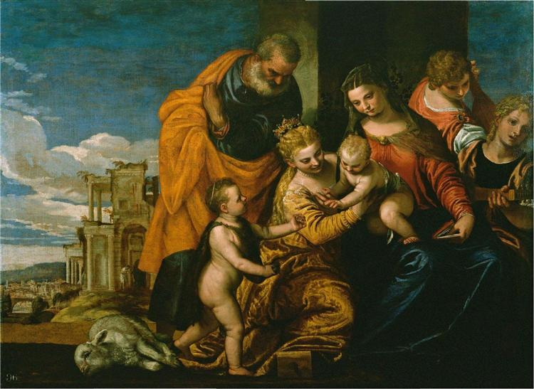 The Marriage of Saint Catherine, c.1562 - c.1569 - Paolo Veronese