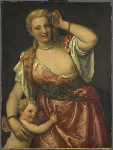 Venus and Amor - Paolo Veronese