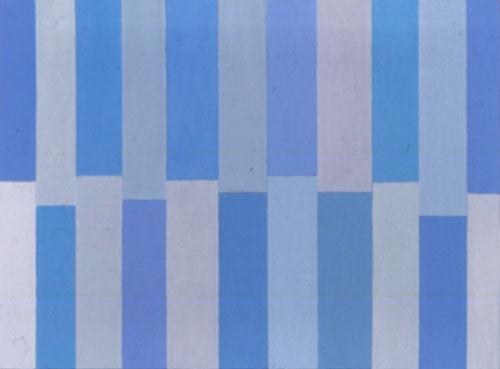 Blue, Grey Not Touching, 2002 - Pat Lipsky