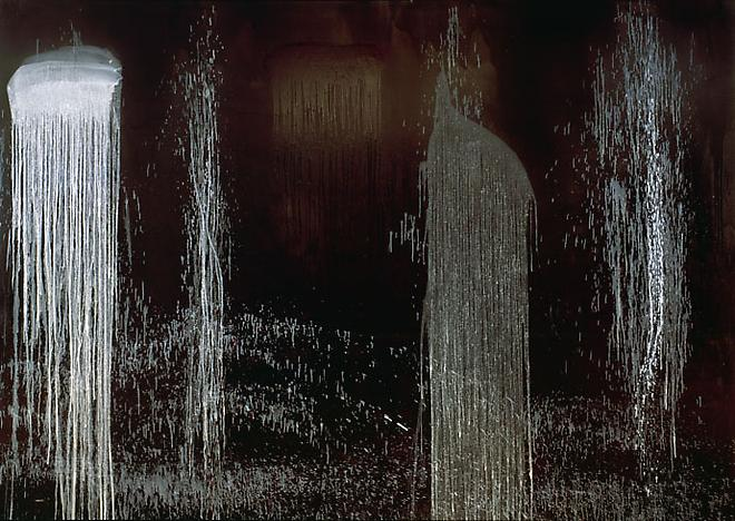 Waterfall of Fundiments, 1990 - Pat Steir