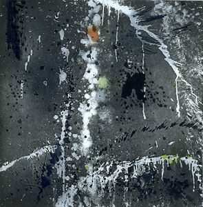 Wind and Water, 1996 - Pat Steir