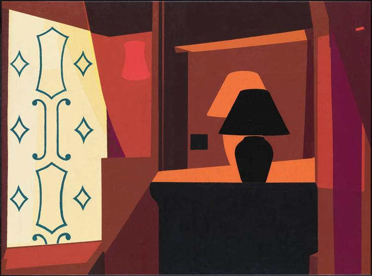 Braque Curtain, 2005 - Patrick Caulfield