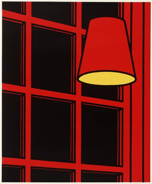 Interior: Night, 1971 - Patrick Caulfield