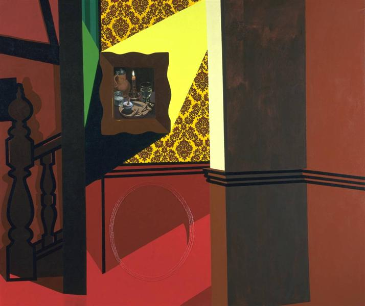 Interior with a Picture, 1985 - Patrick Caulfield